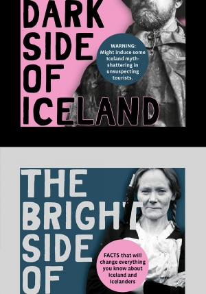 The Dark and Bright Side of Iceland