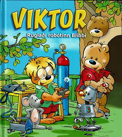 Viktor - ruglaði róbotinn Blíbbi