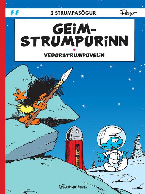 Strumparnir: Geimstrumpurinn - Veðurstrumpuvélin