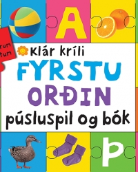 Fyrstu orðin - púsluspil og bók