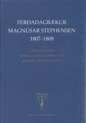Ferðadagbækur Magnúsar Stephensen 1807-1808