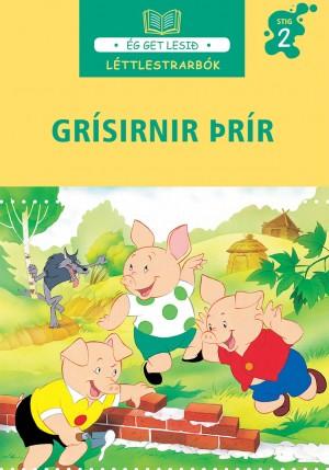 Grísirnir þrír - léttlestrarbók