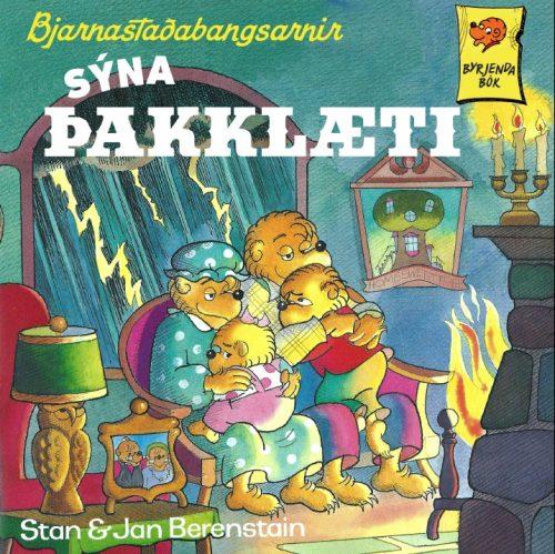 Bjarnastaðabangsarnir - sýna þakklæti