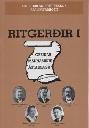 Ritgerðir I - greinar, mannaminni, ástarsaga