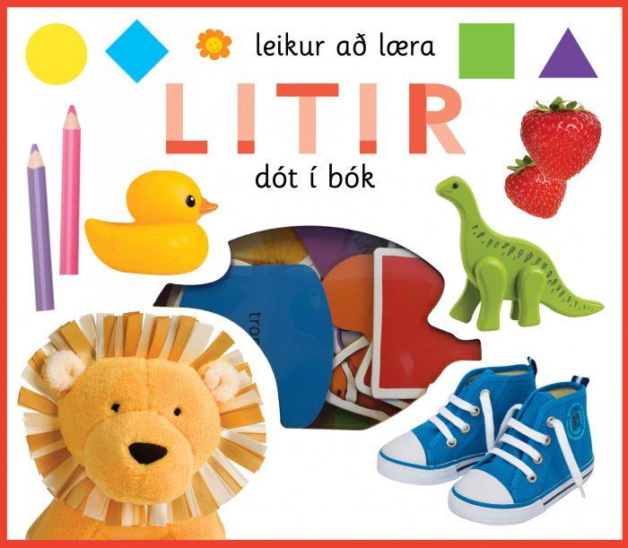 Litir: leikur að læra - dót í bók