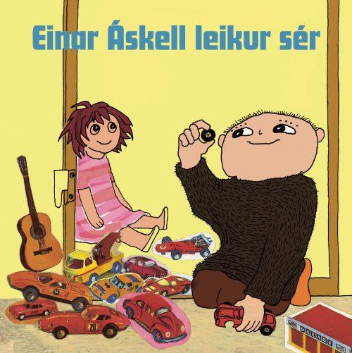 Einar Áskell leikur sér