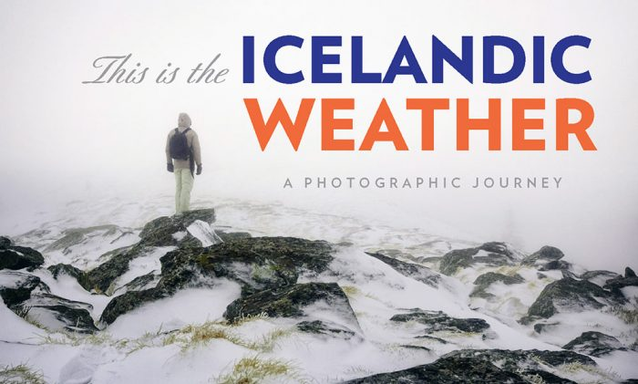 This is the Icelandic weather