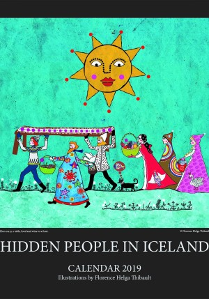 Hidden people in Iceland - Calendar 2019