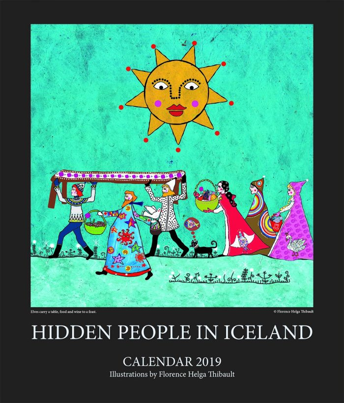 Hidden people in Iceland - Calendar 2019