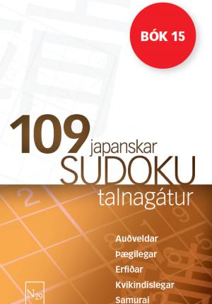 109 Sudoku - bók 15