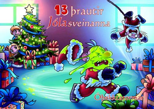 13 þrautir jólasveinanna: Óþekktarormar