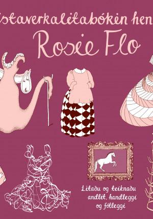 Listaverkalitabókin hennar Rosie Flo