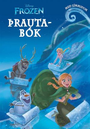 Frozen þrautabók m/límmiðum