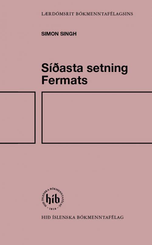Síðasta setning Fermats