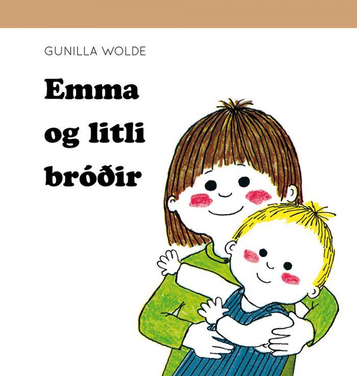 Emma og litli bróðir