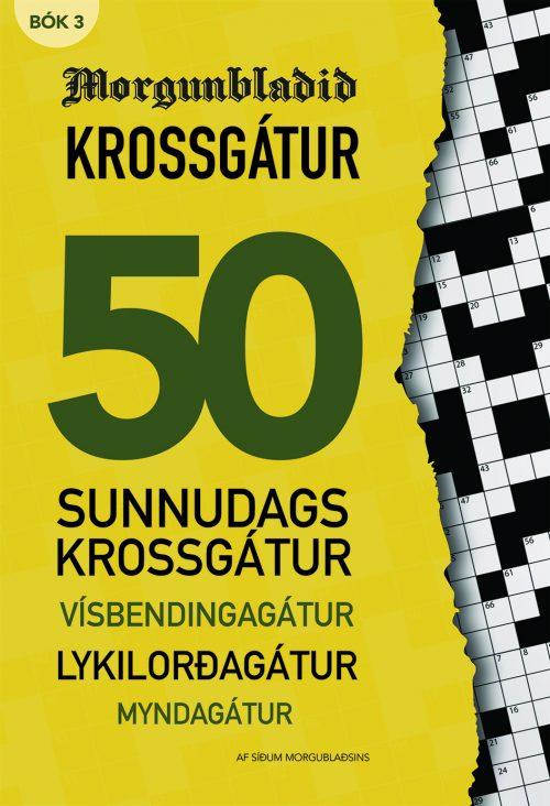 Krossgátur Morgunblaðið: Bók 3