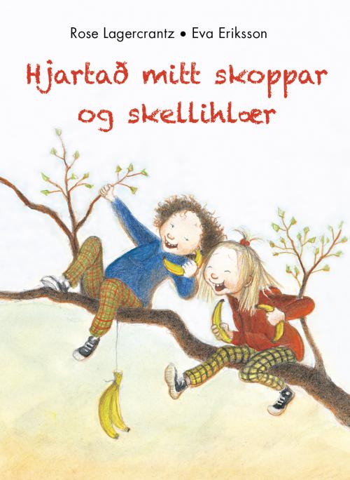 Hjartað mitt skoppar og skellihlær