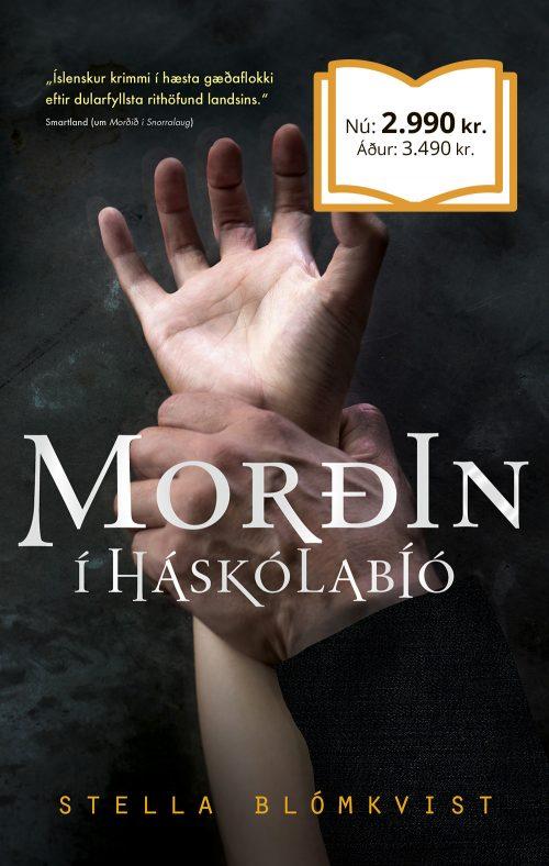 Morðin í Háskólabíó bók mán.