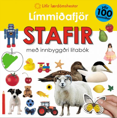 Límmiðafjör - stafir