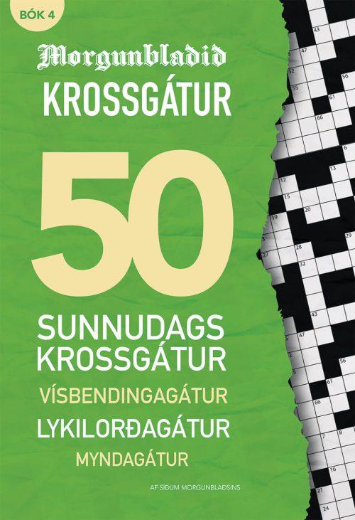 Morgunblaðið krossgátur - bók 4