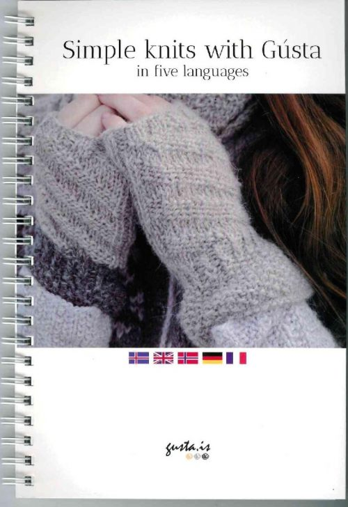 Simple knits with Gústa: in five languages