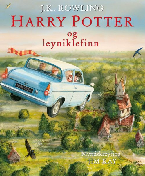 Harry Potter og leyniklefinn - myndskreytt