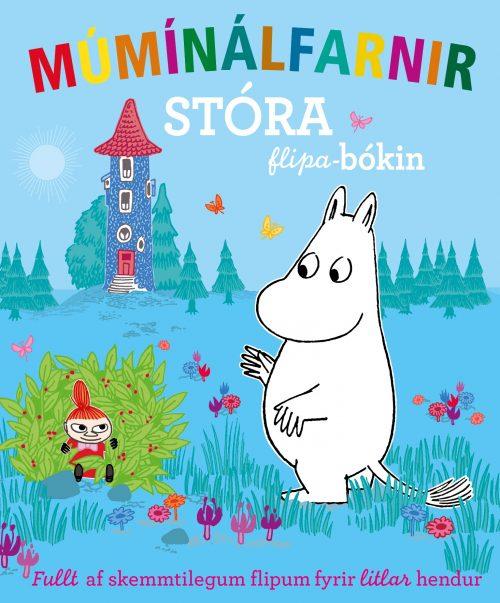 Múmínálfarnir - Stóra flipabókin