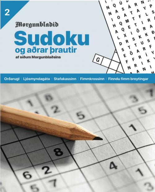Sudoku og aðrar þrautir NR 2
