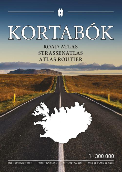 Kortabók / Road atlas / Straßenatlas / Atlas routier 2021-2023 – 1:300.000