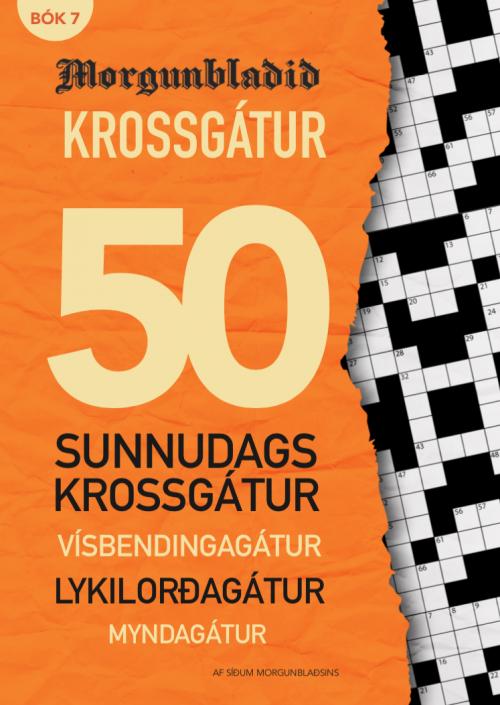 Krossgátur Morgunblaðið bók 7